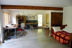 my studio in hibernation