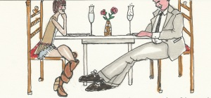 Illustration from Stupid Model in Paris and Down Under